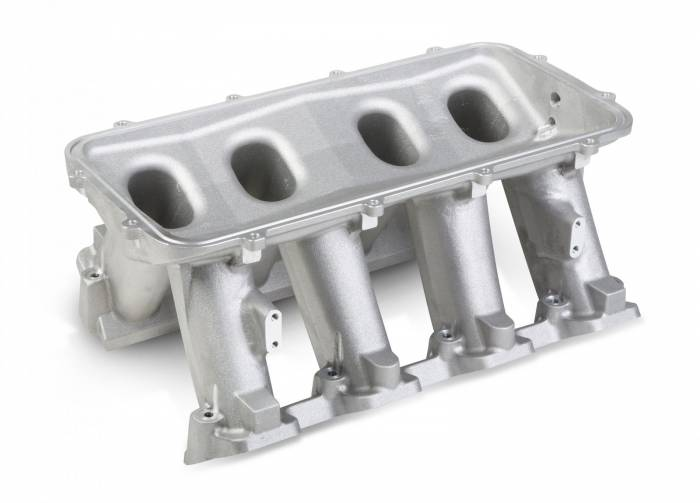 Holley Performance - HLY300-213 - LS3 Style Carbureted Base Only ( Plenum-Top Mounting Fabrication Flange Available Separately)