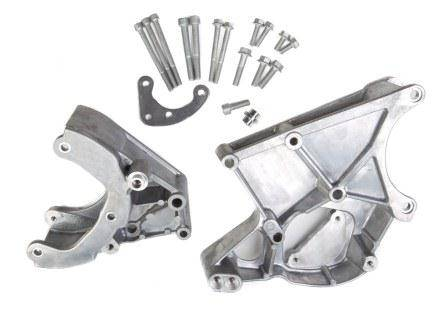 Holley - HLY - HLY20-131 Holley GM LS A/C, P/S & Alt Serp Bracket Kit