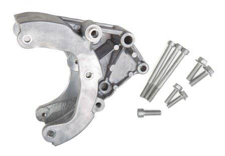 Holley Performance - HLY20-133 - Holley GM LS A/C Accessory Bracket Kit, Passenger Side, Works with R4 Compressor