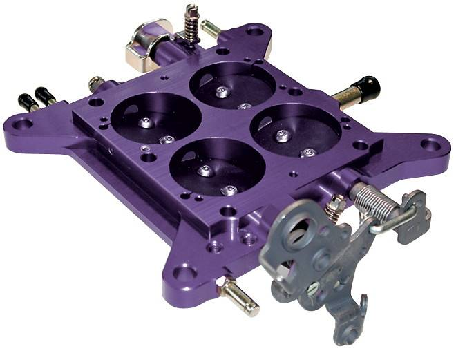 Proform - 67148 - Billet Throttle Base Plate - 750 CFM Vacuum Secondary Carburetors