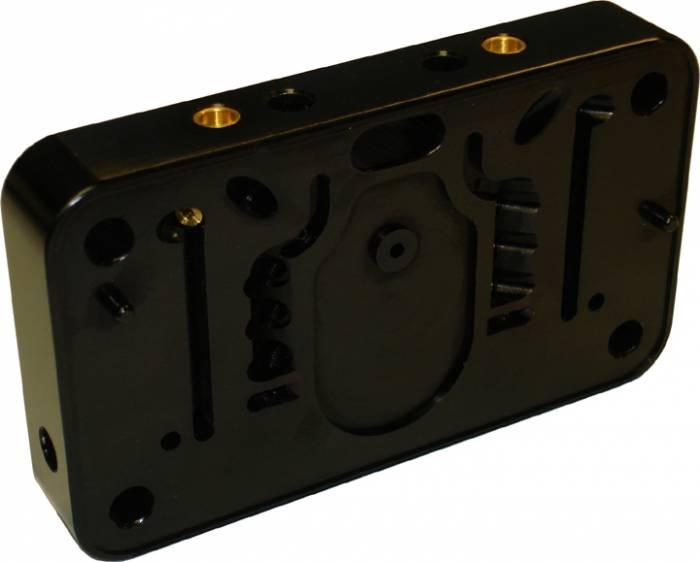 Proform - 67163C - Billet Metering Block - Secondary Conversion Dual Inlet Series