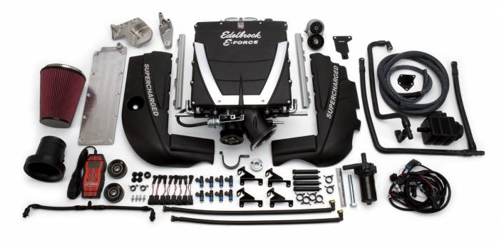 Edelbrock - ED - ED1540 Edelbrock E-Force Universal Supercharger Kit  for GM LS3 Engines