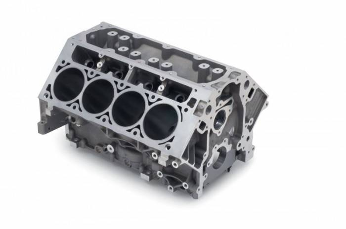 "Chevrolet Performance Parts - 12602691 - Production LS2 / 6.0L Gen IV Block - 4.00"" Bore, 9.240"" Deck, 2.56"" Mains, 6 Bolt Main, Aluminum Block"