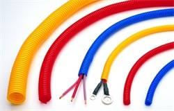Trans-Dapt Performance Products - Trans-Dapt Performance Products Wire Harness Tubing Convoluted 7591
