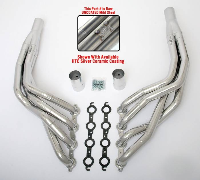 "Hedman Hedders - HD45400 1968-74 GM X Body 1-7/8"" X  2"" Stepped Long Tube LS Engine Swap Headers"