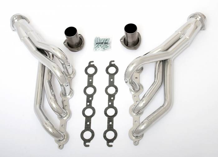 "Hedman Hedders - HD45246 1982-93 GM S-series Truck, 2WD 1-3/4"" Mid Length LS Engine Swap Headers"