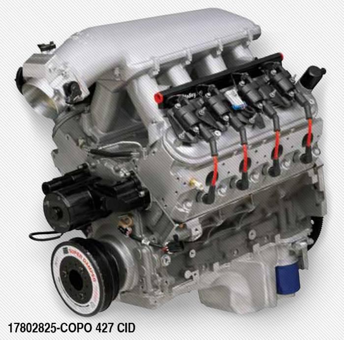17802825,17802825 - COPO LS 427 425hp Crate Engine