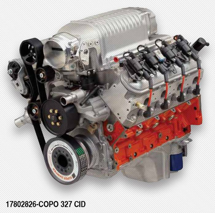 Chevrolet Performance Parts - 17802826 - COPO LS 327-2.9L S/C 500hp Crate Engine