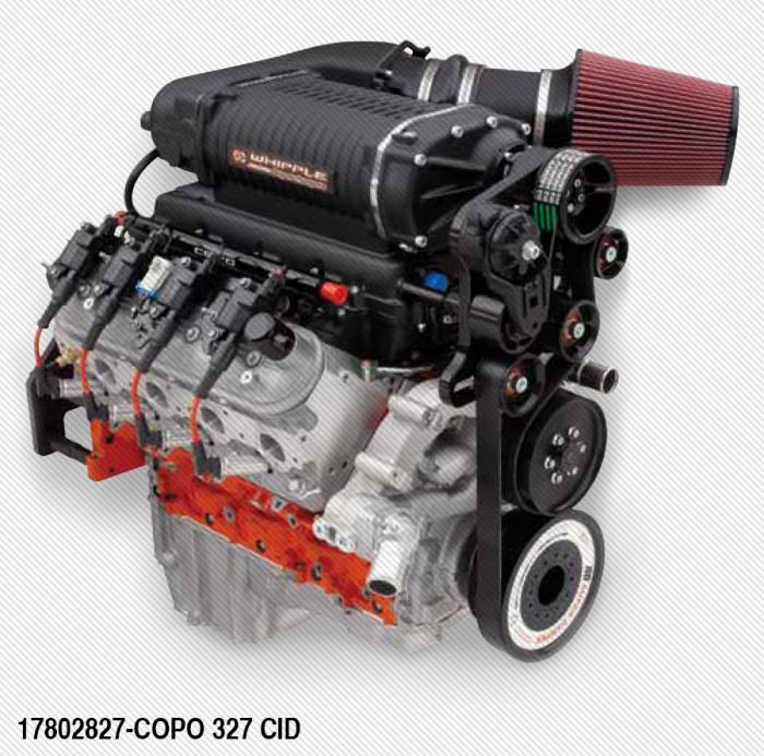 Chevrolet Performance Parts - 17802827 - COPO LS 327-4.0L S/C 550hp Crate Engine