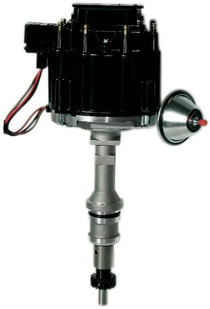 Proform - 66980BK - Ford 351C-400M-439-460 HEI Street/Strip Distributor, Black Cap