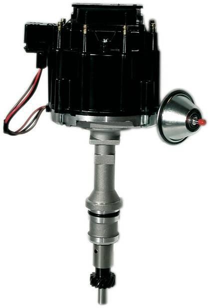Proform - 66980BK - Ford 351C-400M-439-460 HEI Street/Strip Distributor, Black Cap