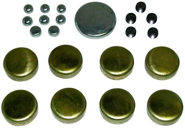 Proform - 66554 - Brass Freeze Plug Kit - Ford 352, 390, 428