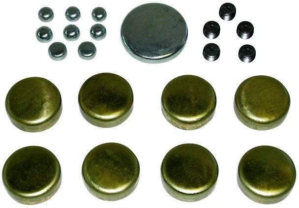 Proform - 66557 - Brass Freeze Plug Kit - Chrysler 318-360