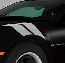 GM (General Motors) - 22798340 - Fender Hash Marks Stripe Package, 2012-14 Camaro, Light Silver