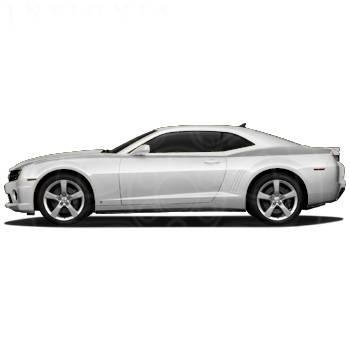 GM (General Motors) - 20990192 - Heritage Stripe Decal Package, 2010-14 Camaro, Light Silver