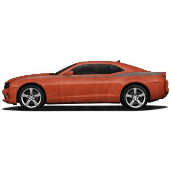 GM (General Motors) - 20990193 - Heritage Stripe Decal Package, 2010-14 Camaro, Cyber Gray