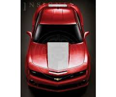 GM (General Motors) - 92248300 - Hood and Hockey Stick Stripe Package - 2010-13 Camaro Coupe Only, Cyber Gray