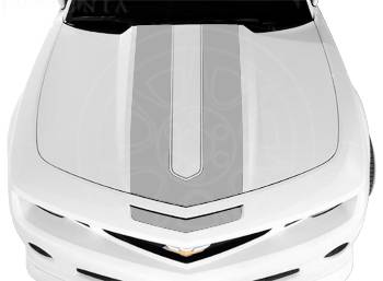 GM (General Motors) - 20990187 - Camaro Coupe Synergy Stripe Package - Switchblade Silver