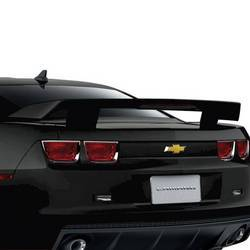 GM (General Motors) - 20979729 - High Wing Spoiler Kit, 2010-13 Camaro Coupe, Black (GBA) without RPO Code D80