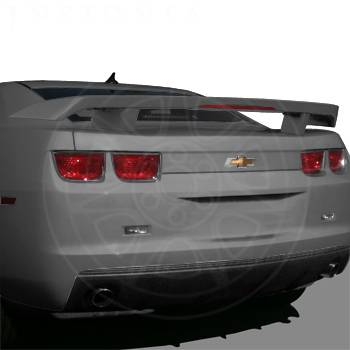 GM (General Motors) - 20979732 - High Wing Spoiler - 2010-11 Camaro Coupe Without RPO D80, Cyber Gray (GBV)