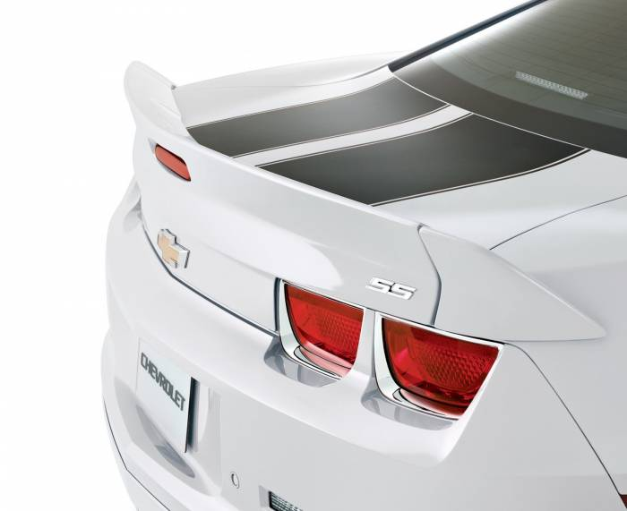 GM (General Motors) - 22737409 - Blade Wing Spoiler - 2011-13 Camaro, Not For Use on Convertible, Summit White (GAZ)