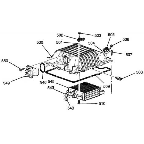 12622236 Camaro LSA Supercharger Cover Kit – Lsa Engine Diagram
