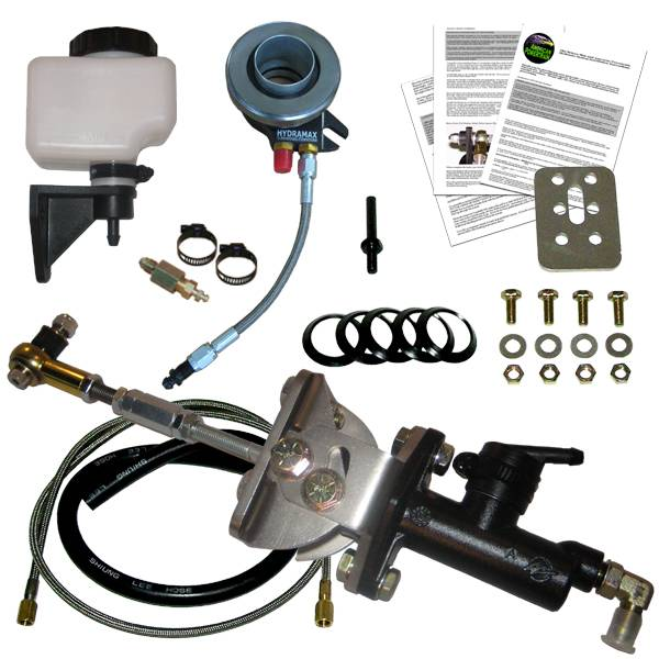 American Powertrain - HMGM-01101G - Hydramax Universal Hydraulic Clutch System for GM Vehicles With Tremec TKO,Muncie,T10, Richmond,Jerico,T5, Lenco