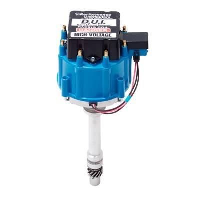 Davis Unified Ignition - DUI-12720BL - Davis Unified SBC & BBC HEI Performance Distributor with Blue Cap