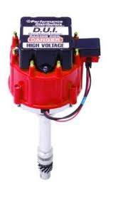 Davis Unified Ignition - DUI-13720RD - Davis Unified  BBC HEI Performance Distributor with Slip-Collar & Red Cap