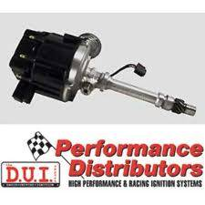 Davis Unified Ignition - DUI-15720BK - Davis Unified SBC & BBC HEI Performance Distributor with Tach Drive & Black Cap