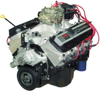 PACE Performance - GMP-4L80EZZ502-D - GM Big Block Chevy ZZ502 Fully Assembled Deluxe Crate Engine with 4L80E Trans Package