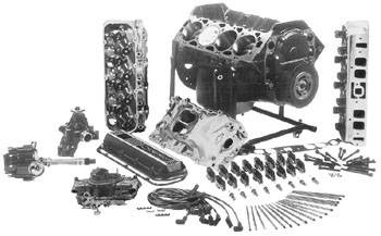 PACE Performance - GMP-4L80EZZ502-K - GM Big Block Chevy ZZ502 NON- Assembled Deluxe Crate Engine with 4L80E Trans Package