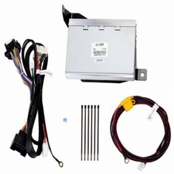 GM (General Motors) - 19119200 - GM Kicker Audio Upgrade - 2011-14 Camaro, Includes 200-Watt DSP Amplifier