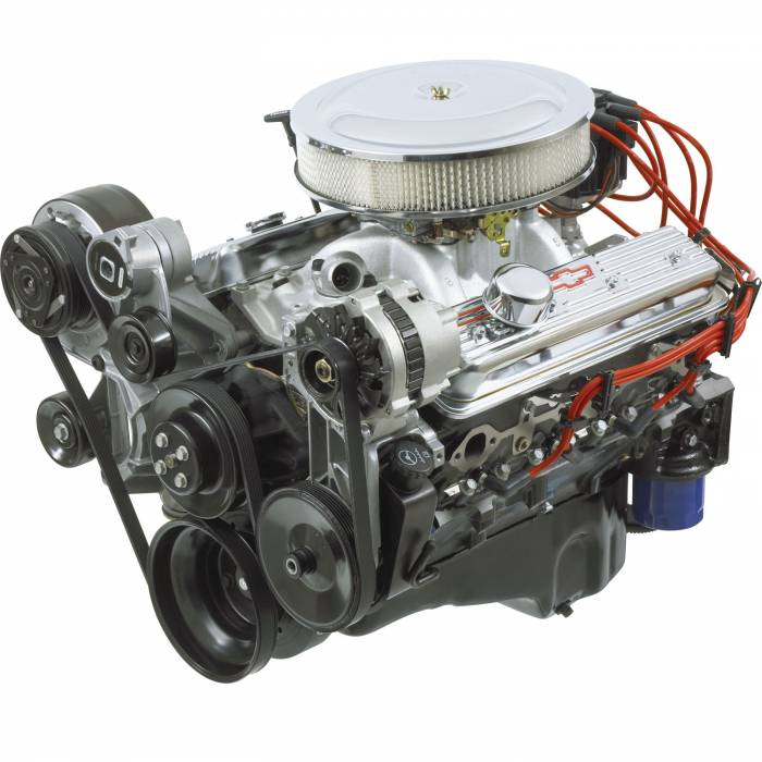 GM Performance Parts - 19210009 - GM 350CID 330 HP Deluxe Crate Engine with Serpentine Drive System