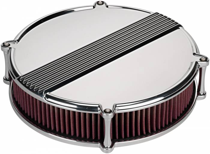 "Billet Specialties - BSPP15840 - Billet Specialties 14"" Profile Collection Air Cleaner, Round"