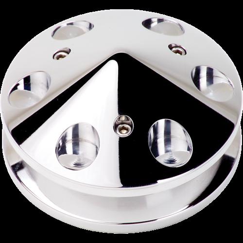"""Billet Specialties - BSP85120 - Billet Specialties Alternator Pulley, 2-1/2"""" Diameter"""