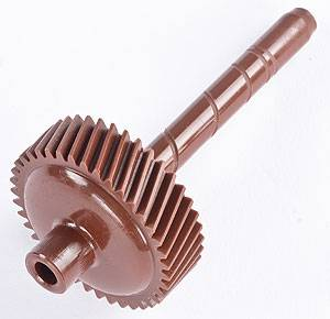 "TCI Transmission - TCI880012 - TCI Speedometer Driven Gear - GM 76-84 200C, 71-83 375B, 76 TH425, 69-79 475, 82-93 700R4, TH400- 39 Tooth, Brown, 3.35""L x .305"" Shaft x 1.500"" Gear Type H"
