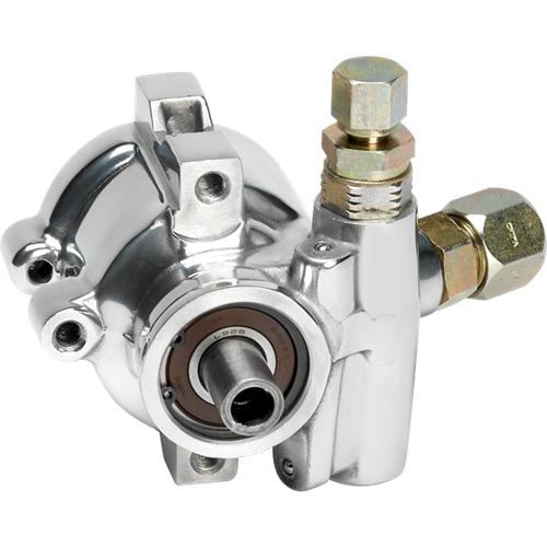 Billet Specialties - BSP12025 - Billet Specialties Power Steering Pump – Type II Aluminum Polished Finish 3.5 GPM