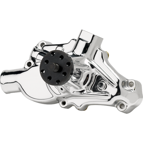 Billet Specialties - BSP12030 - Billet Specialties Water Pump – Edelbrock Endurashine - Tru Trac Small Block Chevy