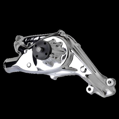 Billet Specialties - BSP12037 - Billet Specialties Water Pump – Edelbrock Endurashine - Tru Trac 348/409 Chevy