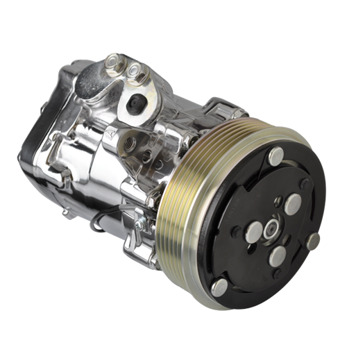 Billet Specialties - BSP12060 - Billet Specialties Polished SD-7 AC Compressor