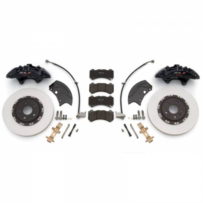 PACE Performance - GMP-22959672 - Camaro ZL1 Brembo Front 6-Piston Upgrade Kit