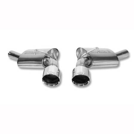 GM (General Motors) - 92225673 - 2010-13 Camaro V-6 (LLT, LFX) Exhaust Upgrade Kit, No Tip - For Use on Vehicles WITH Ground Effects