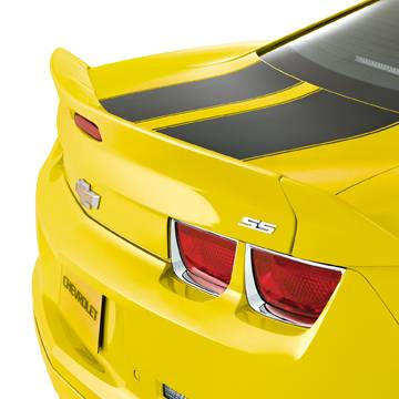 GM (General Motors) - 92234293 - Blade Wing Spoiler - 2011-13 Camaro, Not For Use on Convertible Models, Rally Yellow (GCO)