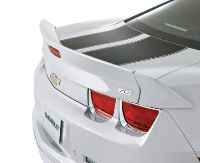 GM (General Motors) - 92234289 - Blade Wing Spoiler - 2011-13 Camaro, Not For Use on Convertible Models, Silver Ice (GAN)