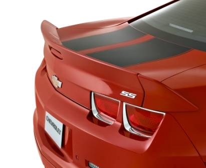 GM (General Motors) - 92234281 - Blade Wing Spoiler - 2011-13 Camaro, Not For Use on Convertible Models, Victory Red (GCN)