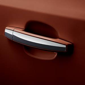 GM (General Motors) - 95107226 - GM Door Handle Set - Tin Roof Rusted (G7P) with Chrome Stripe, 2014 Chevy Cruze