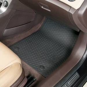 GM (General Motors) - 22893249 - GM Premium All-Weather Floor Mats, 2012-14 Chevy Cruze, Front and Rear Set, Black