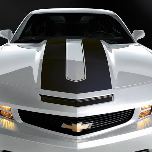 GM (General Motors) - 20968496 - Camaro Convertible Synergy Stripe Package - Black