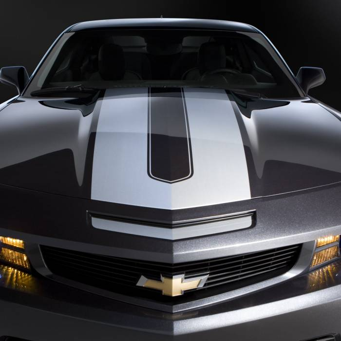 GM (General Motors) - 20990181 - Camaro Convertible Synergy Stripe Package - Silver